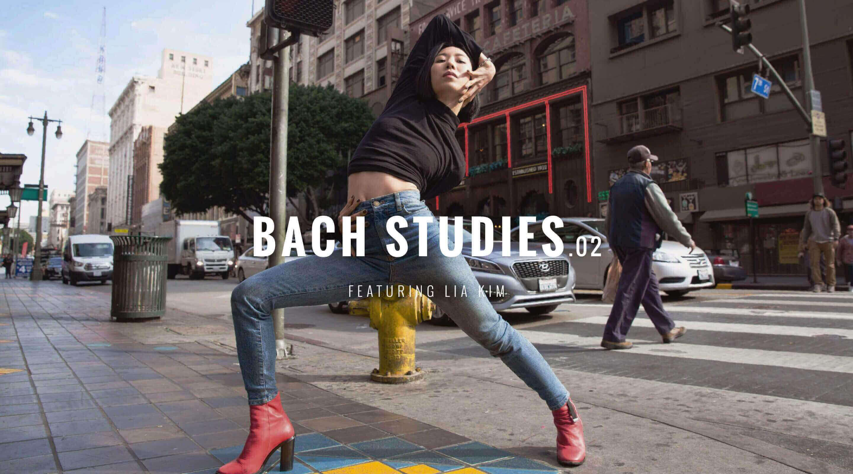 Bach studies.02 Featuring Lia Kim