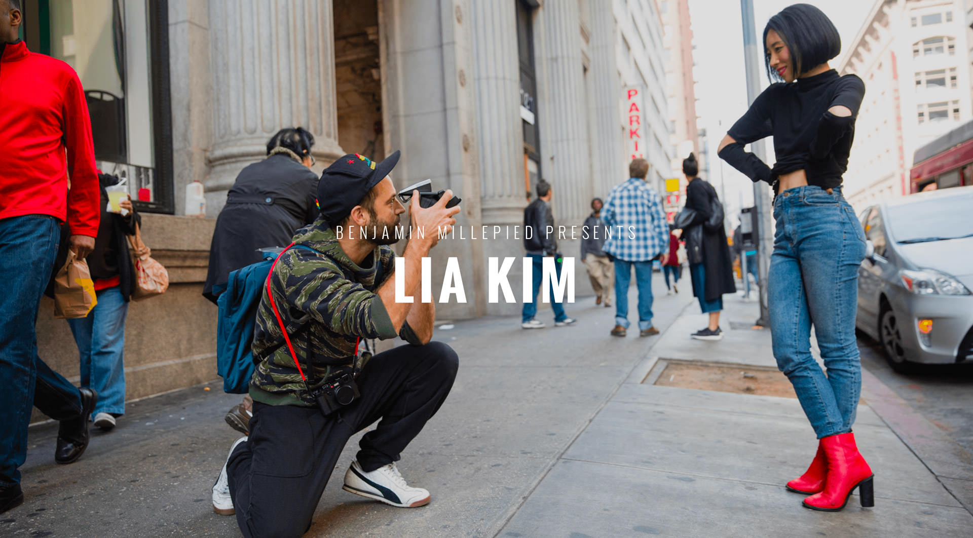 Benjamin Millepied presents Lia Kim