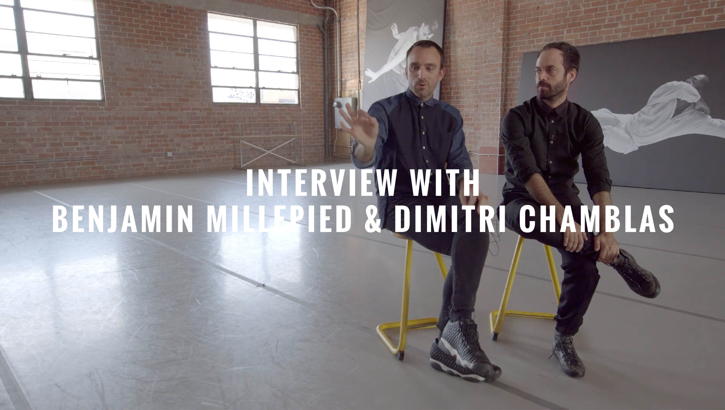 Interview with Benjamin Millepied & Dimitri Chamblas